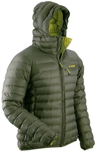 timeless design 3fea1 61d53 CAMP ED PROTECTION JACKET VERDE MILITARE